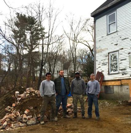 Los demoledores Ricky, Terry, James y Marco Avilés