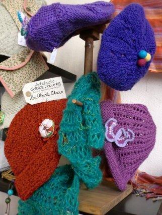 Gorros y boinas de lana