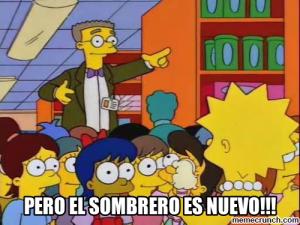 Siempre hay una frase de los Simpsons para cualquier situación.