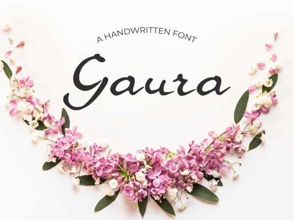 Gaura Font