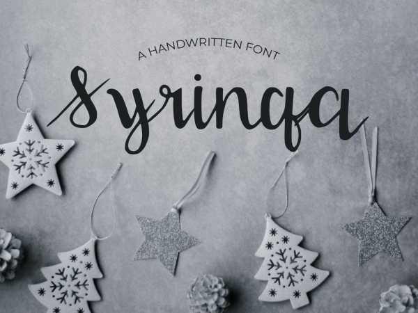 Syringa Font