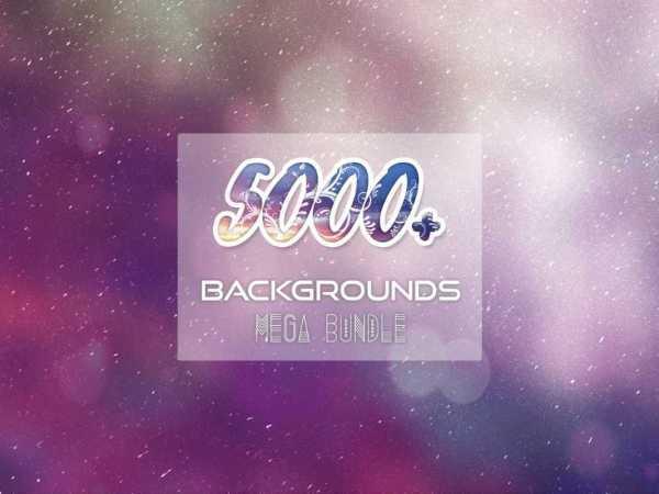 5000+ Backgrounds Mega Bundle