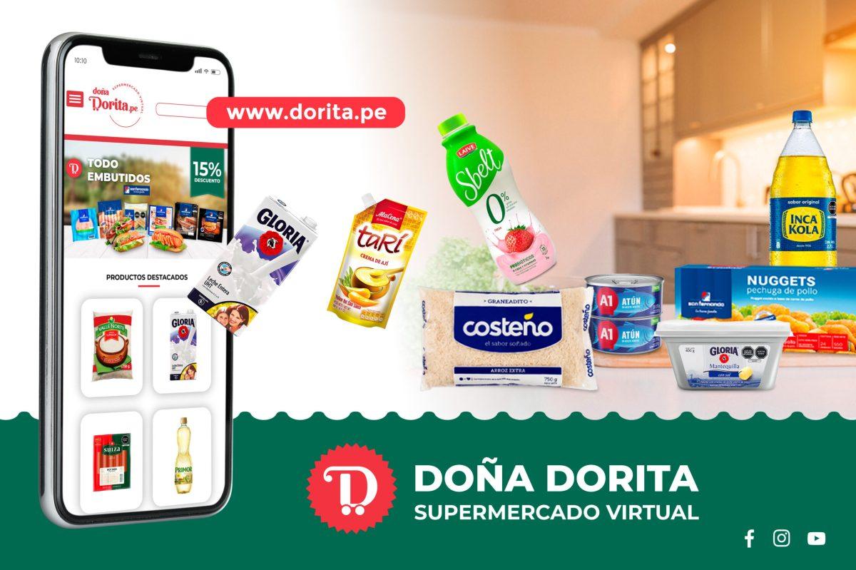 Doña Dorita supermercado virtual