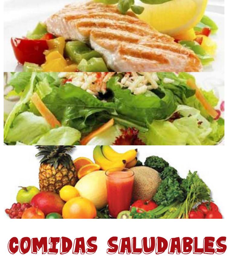 que son comidas no saludables
