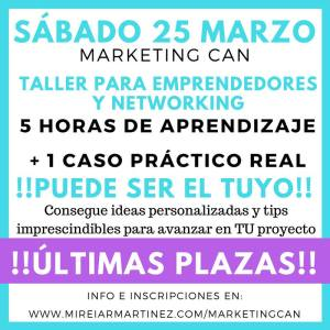 MarketingCan - ultimas plazas