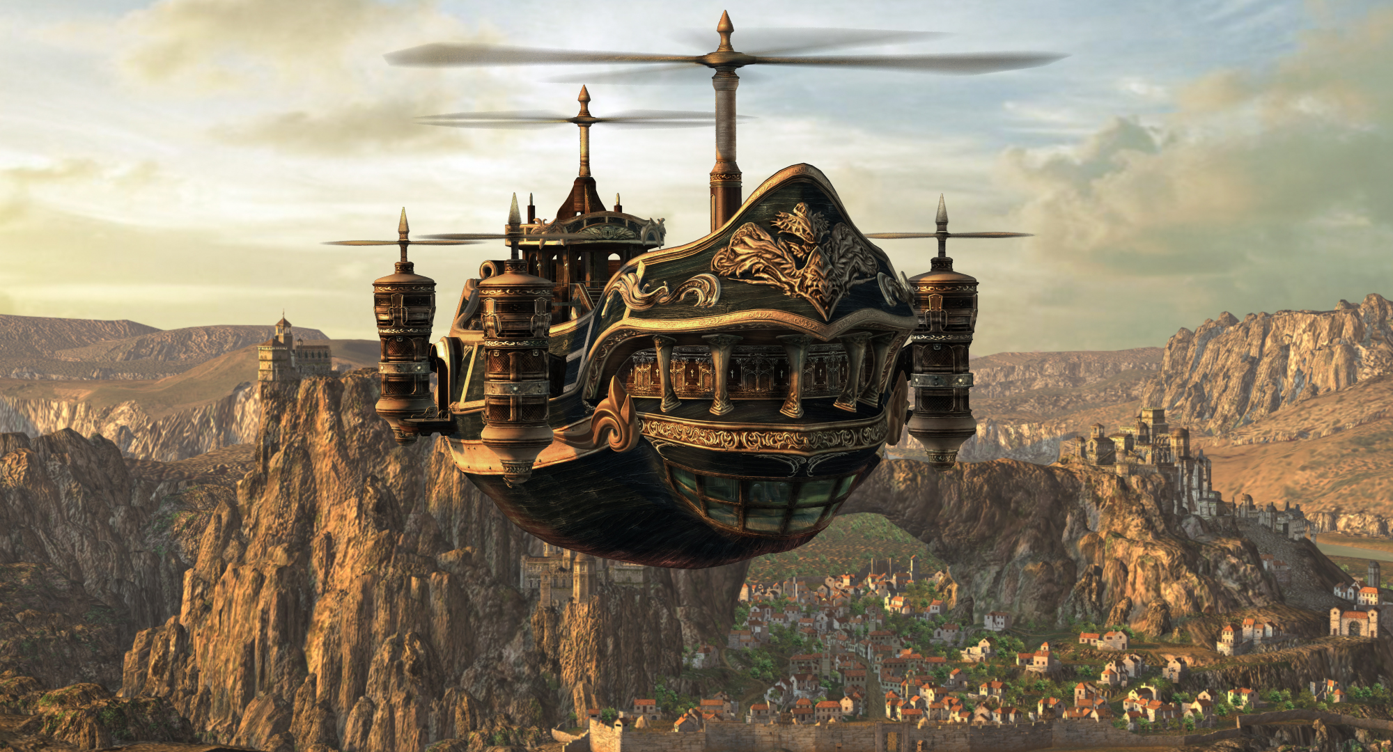 Image result for ffix airship