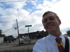 I hope you can see the street name... HENRY S/o to the grom