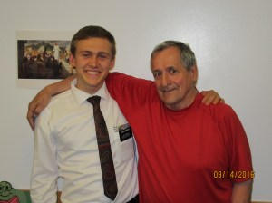Elder Gramps! AKA my favorite person that I left behind in Moncton! Andy Williams is a STAR