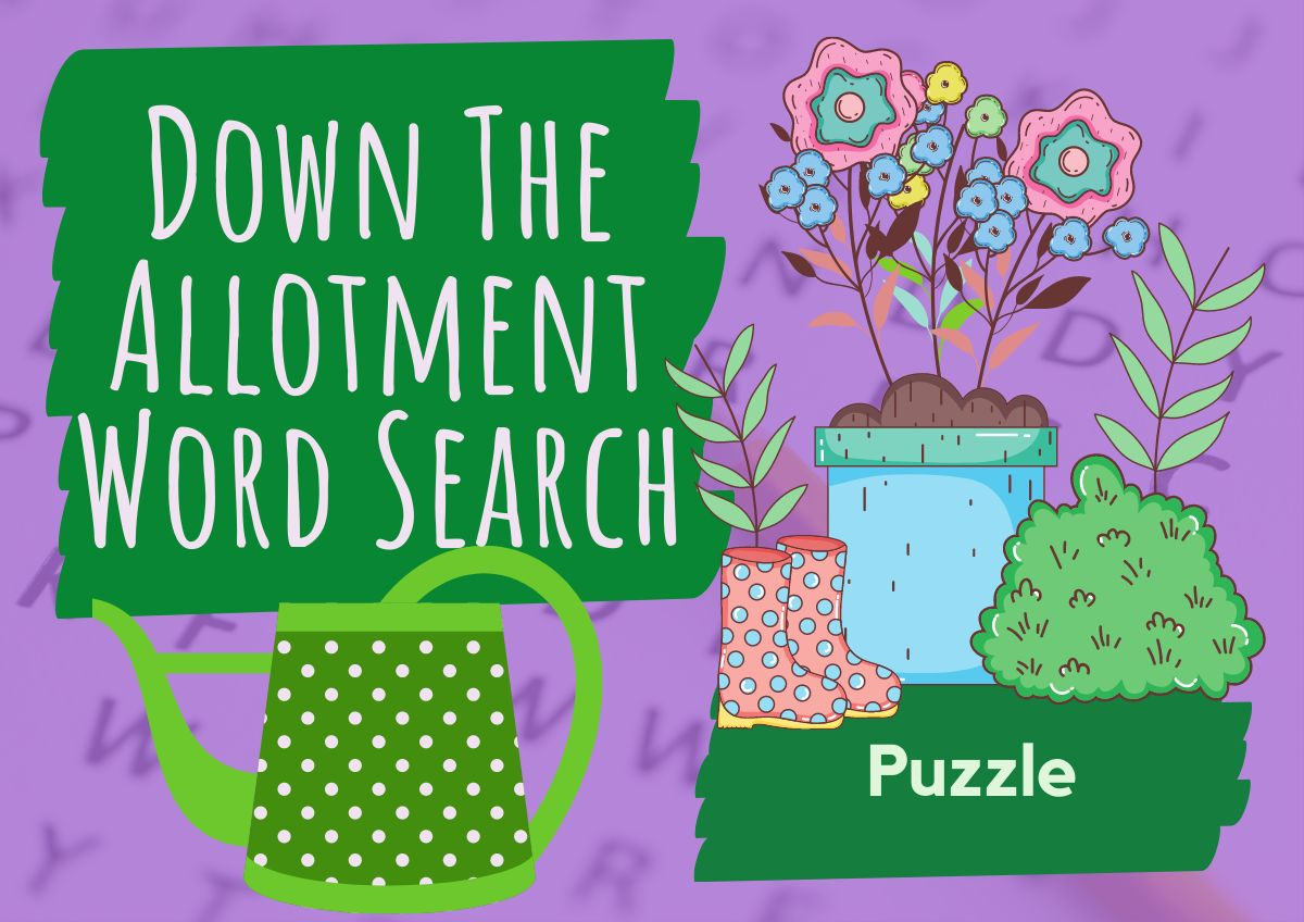 Word Search - Down The Allotment
