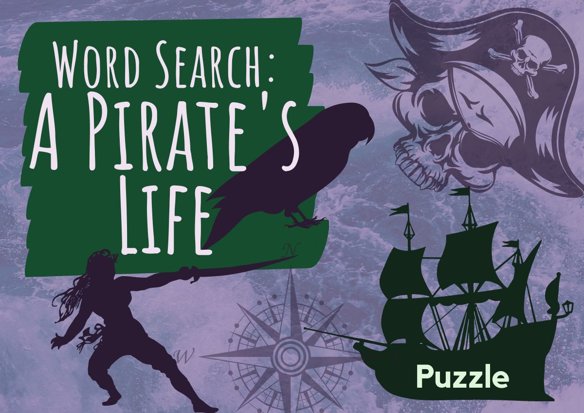 Word Search - A Pirate's Life