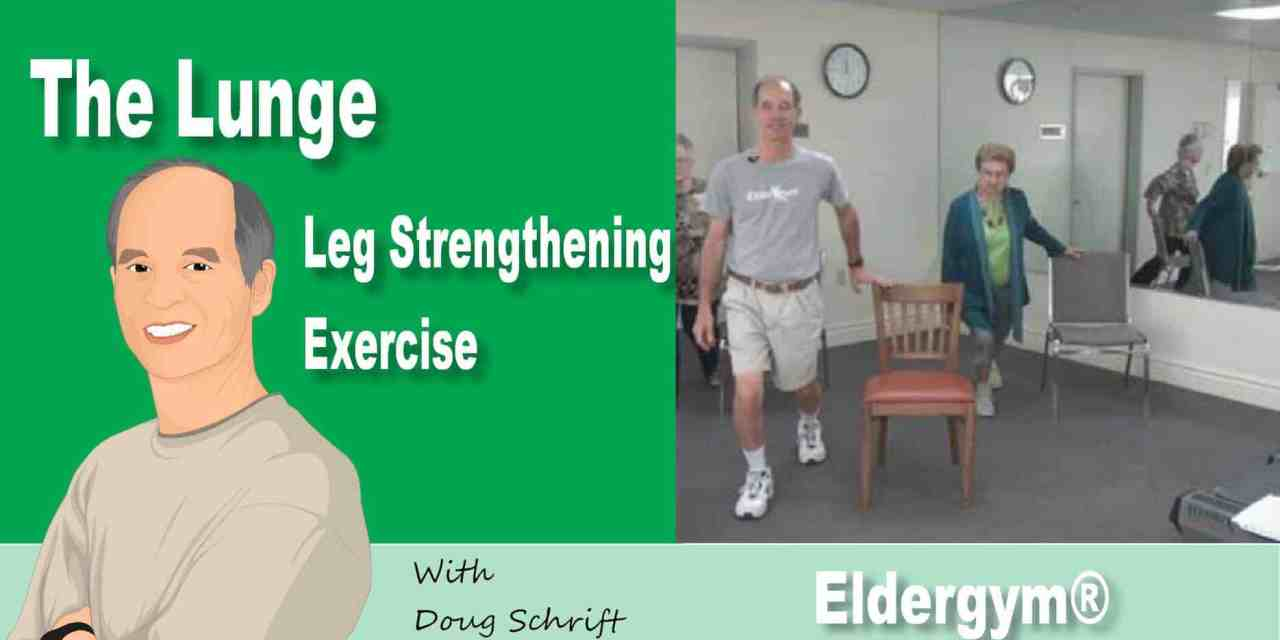 Leg Strengthening Exercise for Seniors – Forward Lunge