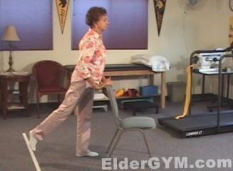 Leg extension ending move