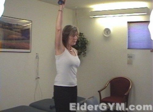 Side shoulder raise end