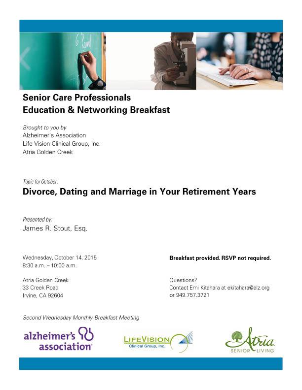 Alzheimer Seminar Flyer Full