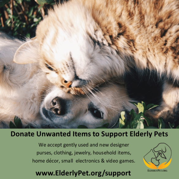 donate to support elderly pets