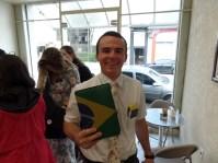 Brazil Flag Scripture Cover