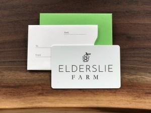 Elderslie Farm Gift Card