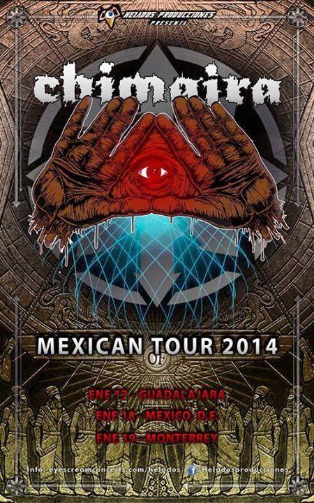 14-01-17 Chimaira @ Guadalajara
