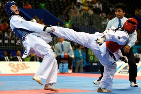 Taekwondo-Kicks