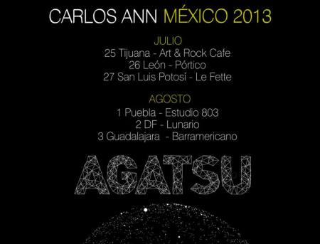 Gira Carlos Ann México 2013