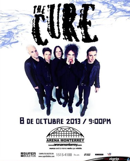 TheCure MTY Oct 2013
