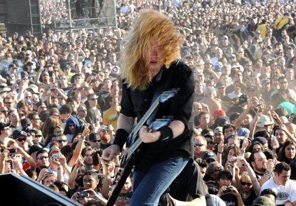 David Mustaine. Foto: Megadeth.