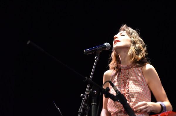 La cantante franesa Julie Vermu / Foto: Rodolfo Ibáñez