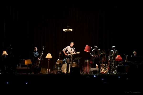 Hugh Laurie y Bottom Copper Band / Foto: Natalia B.R.