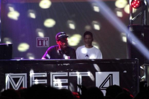El haitiano-canadiense mostró su future R&B a los asistentes. Foto: Óscar Castro / ¡Diga? Agency.