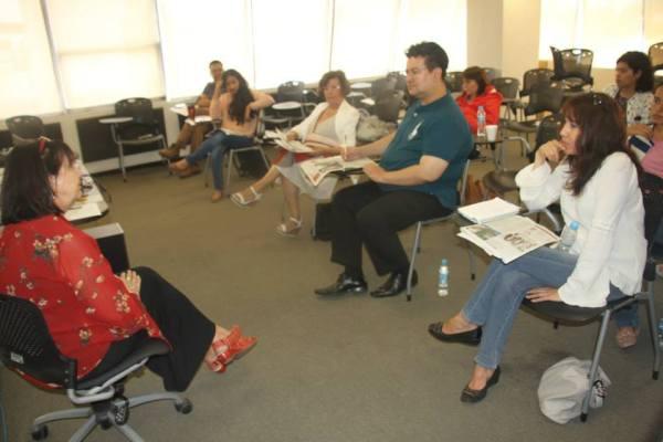 El cine en Jalisco, historia y evolución fue el tema que se trató en la conferencia dictada por Annemarie Meier en el auditorio de C7. Foto: José Luis Gómez.