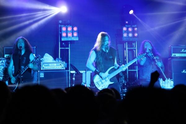 Testament, shot de thrash metal. Foto: Óscar Castro.
