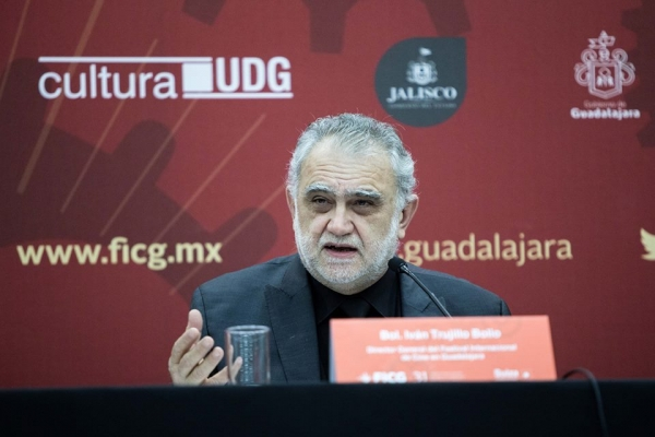 Iván Trujillo, director del FICG. Foto: FICG/Natalia Fregoso.