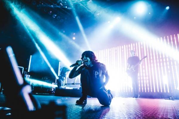 Bring Me The Horizon en su gira por Estados Unidos en 2015. Foto: Facebook oficial de la banda.