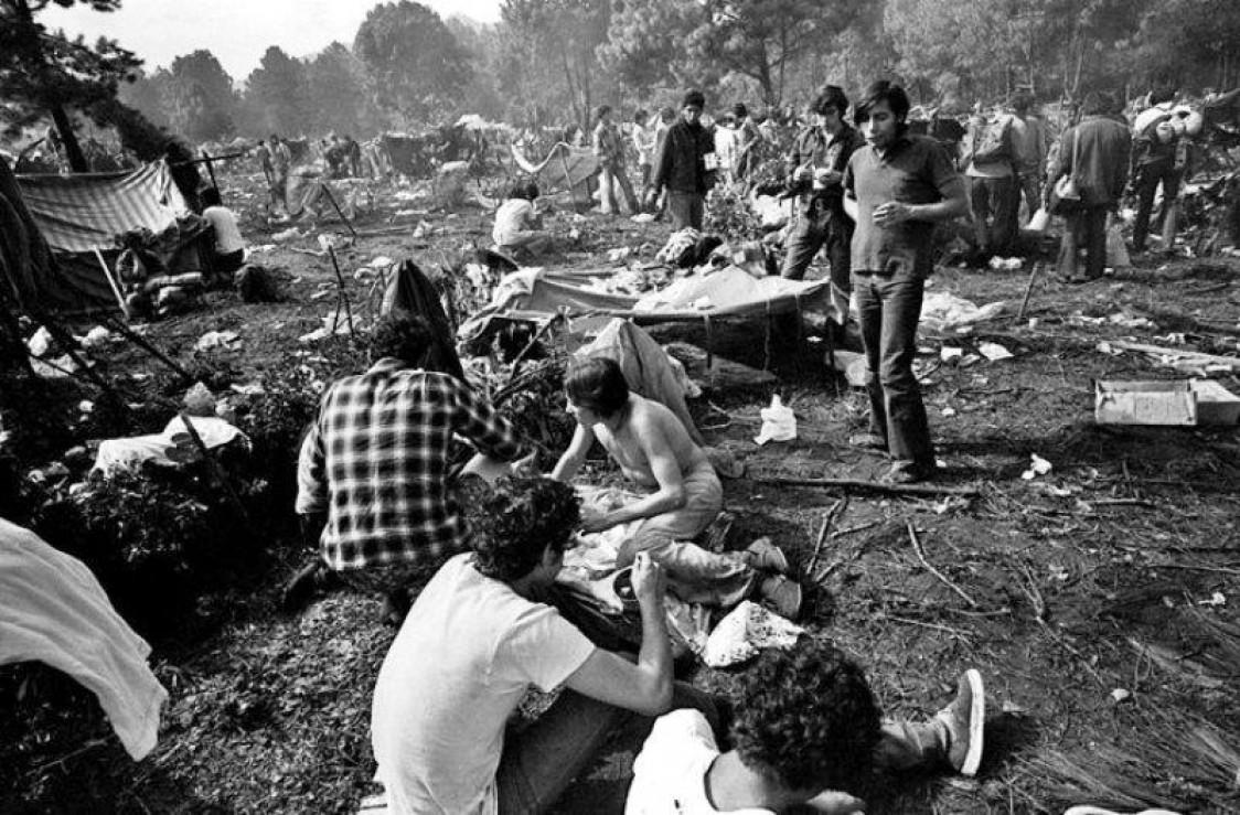 Fue el Festival de Avándaro una cortina de humo?   El Descafeinado