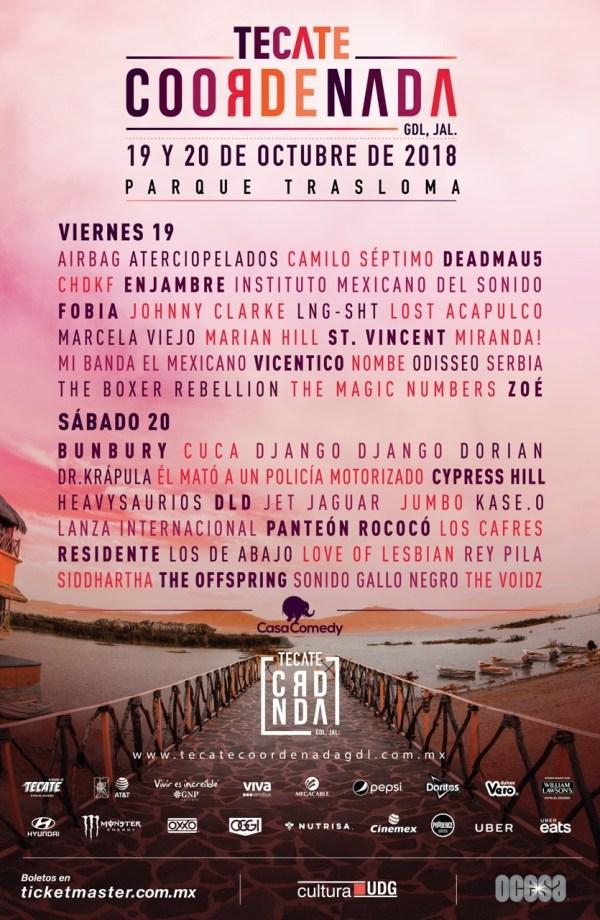 Festival Tecate Coordenada 2018