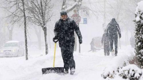 Tormenta de Nieve en Maine