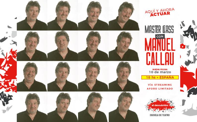 La MASTER CLASS de MANUEL CALLAU llega a ESPAÑA!