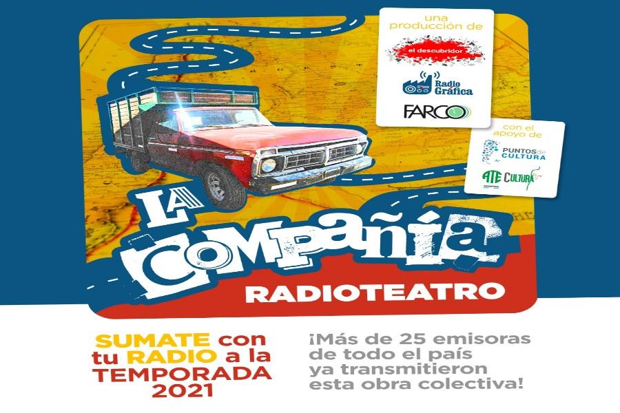 """SUMATE con tu RADIO a la TEMPORADA 2021 del RADIOTEATRO """"LA COMPAÑIA"""" 📻 🎭"""