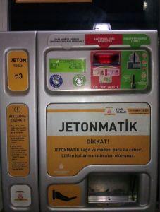 Ticket metro Estambul, guía de viaje a turquía