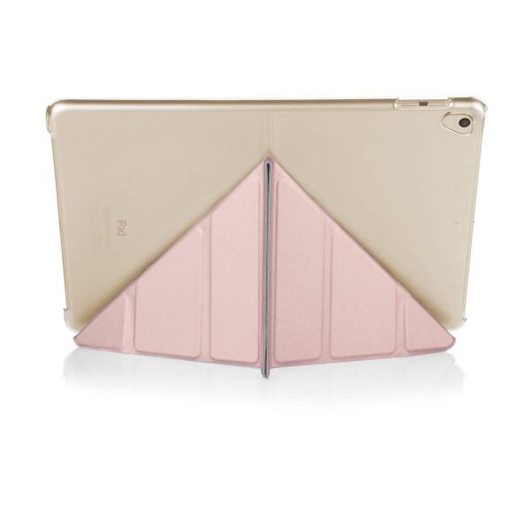 pipetto-ipad-9-7-case-origami-metallic-rosegold-back-wide