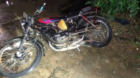 MOTOCICLETA, ACCIDENTE
