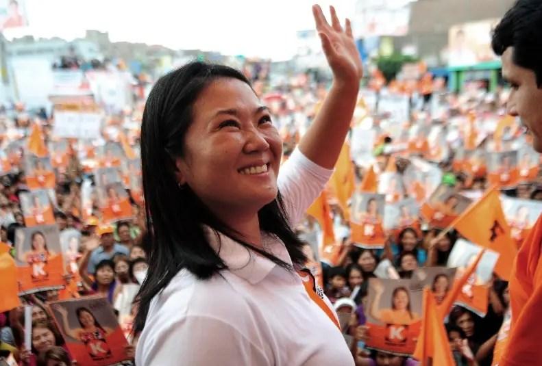 Keiko Fujimori también está implicada en sobornos.