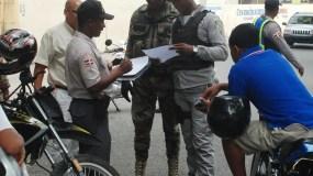 Reportaje sobre Patrullaje policías por Calle y Destacamento  del distrito Nacional,    Hoy-Félix de la cruz  01-06-2013