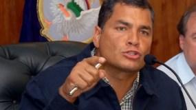 Foto de archivo del presidente de Ecuador Rafael Correa.