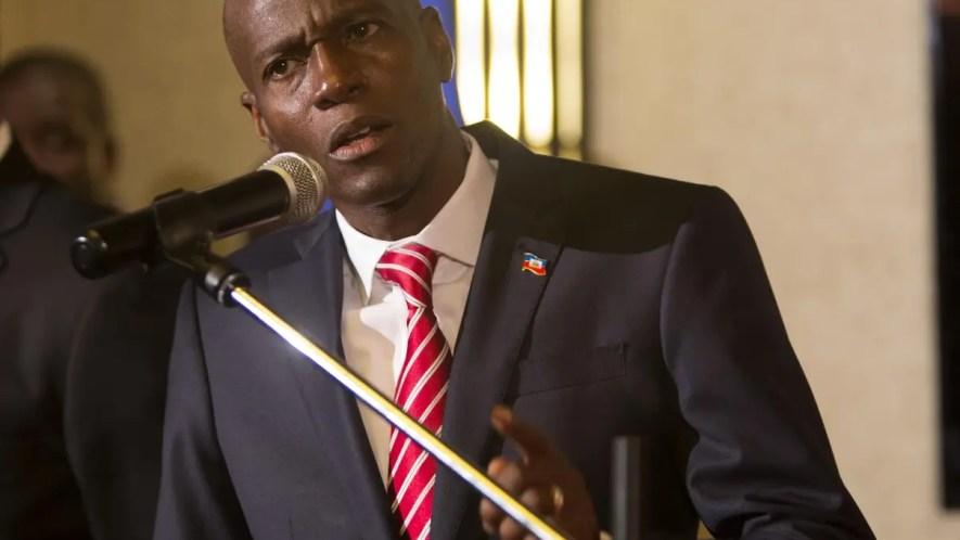 El presidente Haití, Jovenel Moise.