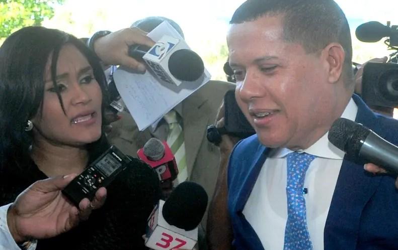 Ruddy González compareció ayer ante la Procuraduría General.