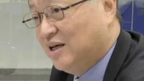 Embajador de Taiwan en la República Dominicana, Valentino Ji Zen Tang /foto José de León.
