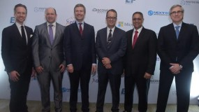 Carl Johan Westring, Herbert Lewy, Martín Ross, Juan Carlos Gómez, Max Rosa y Sebastián Fischer.