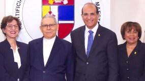 El pleno de la JCE se reunió ayer con monseñor Núñez Collado en momentos en que la oposición le pide que coordien las discusiones.