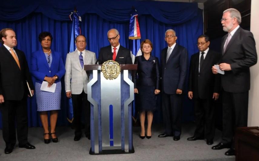 El presidente   Medina designó al consultor Jurídico  Flavio Darío Espinal como vocero del  CNM.